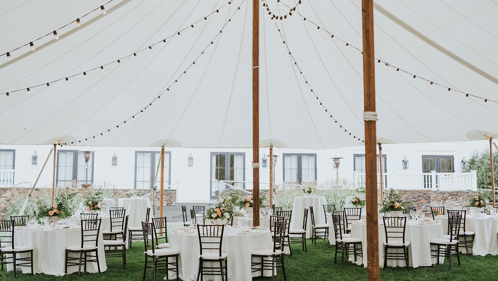 Tented Weddings On The Green