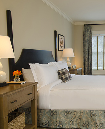 guest rooms at Taconic hotel
